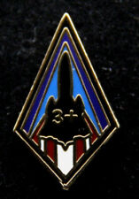 SR-71 BLACKBIRD MACH 3 + HABU LAPEL HAT PIN UP US AIR FORCE NASA SKUNK WORKS