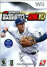 BRAND NEW SEALED WII -- Major League Baseball 2K10 (Nintendo Wii, 2010)