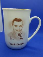 Clark Gable Porcelain Mug-Hollywood Hall Of Fame Museum-Excellent Condition