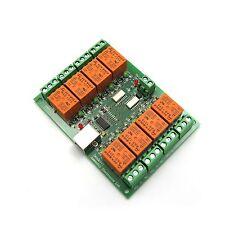 USB-Relaiskarte mit 8 Relais für Automation 12V