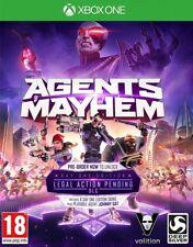 Agents of Mayhem Day One Edition XBOX ONE * Neuf Scellé PAL *
