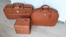 Vintage Ferrari 456GT Schedoni Leather Luggage set Suitcase bag koffers Tasche