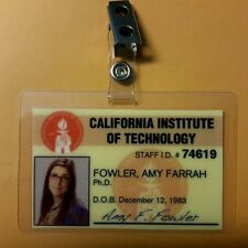 The Big Bang Theory ID Badge- Amy Farrah Fowler prop costume cosplay