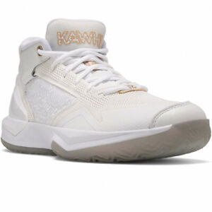 New Balance KAWHI 'Essential White' White/Gold Multi BBKLSWW1 Basketball