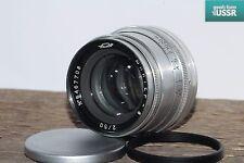 JUPITER-8 50mm f2.0 Silver Lens M39 LTM Zorki Leica f2 KMZ w/ adapt M42
