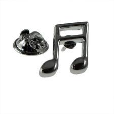 Music Note Semi Quaver Lapel Pin Badge XNP048