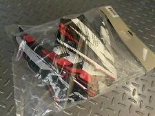 Fox Racing V3 Helmet Replacement Visor Black/Red Carmichael Stewart