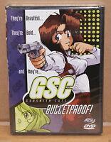 Gunsmith Cats - Bulletproof (DVD, 2001) RARE ACTION ORIGINAL DVD BRAND NEW