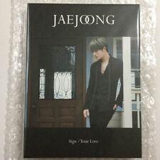 KPOP Kim Jae Joong JYJ TVXQ Sign / Your Love Fanclub ver. limited CD
