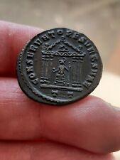 Maximien Hercule Maximianus grand follis CONSERVATORES VRB SVAE Ticinum temple