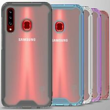 For Samsung Galaxy A20S Case Clear Hard Slim Protective Phone Cover