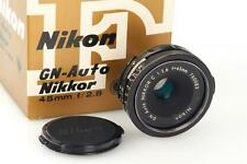 Nikon non-AI 45/2,8 GN Auto Nikkor // 29262,5