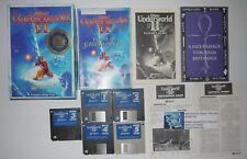 Ultima Underworld 2 II Labyrinth Worlds Origin 3 1/2 Floppy DOS RPG W/Cluebook!
