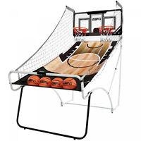 2 Player Arcade Basketball Game ESPN 4 Balls Sports Indoor Electronic Shot Hoops