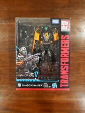 Transformers Generations Studio Series Deluxe Class #17 Shadow Raider New Sealed
