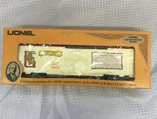 LIONEL TRAIN JOSHUA COWEN THE EARLY YEARS RAILROAD FREIGHT BOX CAR 6-9429