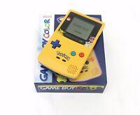 Nintendo GameBoy Color Colour Game Boy Handheld Console Pokemon Yellow Box GBC