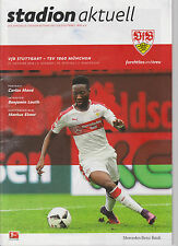 Programm VfB Stuttgart  - TSV 1860 München 2. Bundesliga Saison 2016/17