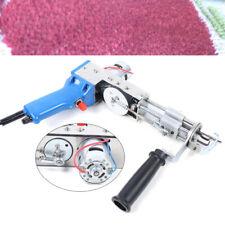 New listing Loop Pile Electric Carpet Weaving Gun Tuft Flock Tool 10000R/Min 9-21mm pile