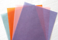 🌸 60 Deluxe Sheets Holiday Fall Summer Spring Colored Vellum Paper Assortment