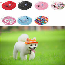 Pet Dog Hat Baseball Cap Windproof Travel Sports Sun Hats for Puppy Large Dog#Q