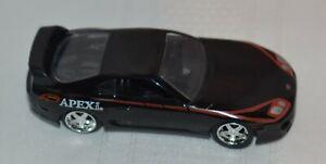 Jada Toys Black 1995 Toyota Supra, 1:64 scale, Made in China, No. 30485