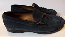 Martin Dingman Countrywear Porter Mocs Tassel Loafers Blue Suede 11