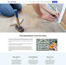 Homepage Website Webseite Internetseite Handwerker Ferienwohnung Transporte usw.