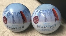 Disney Frozen 2 Mini Collectible Plush Series 1 Lot of 2 Balls