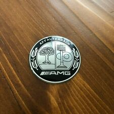 "New - Mercedes-Benz™ AFFALTERBACH AMG Steering Wheel Black Emblem Badge 2"" 52mm"