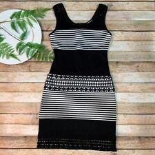 Gianni Bini Black White Dress ~ Size XS