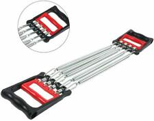 2 in 1 Fitness Chest Expander and Hand Gripper Exerciser Gear with 5 Spring