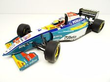 Pauls model type 1:18 Formule 1 JORDAN PEUGEOT Barrichello nº 14 Top c3031 RARE