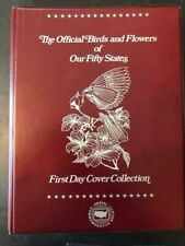 Official Birds & Flowers of the 50 States. First Day Covers.  1982 New in box