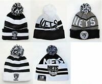 Brooklyn Nets Cuffed Beanie Knit Winter Cap Hat NBA Authentic