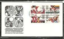 US SC #  C112a 1984 Olympic Games FDC  Artmaster Cachet.