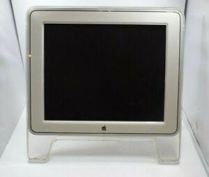 "Vintage Apple M7649 17"" 1280x1024 Studio Display ADC TFT LCD Monitor w/ Adapter"