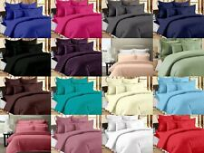 300 TC Hotel Quality Egyptian Cotton King / Queen Size Flat 3 Piece Bed Sheets