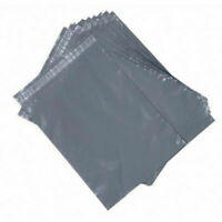 NEW 9X12 INCHES Strong Grey Mailing Post Mail Postal Bags Poly Postage Self Seal