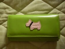 Radley green large purse with lots of slots - VGC