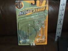 INTOYZ  ACTION FIGURE ACTION STAND CLEAR 1/ 6 TH SCALE FOR 12 INCH FIGURE