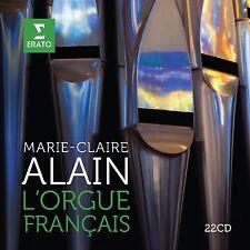 MARIE-CLAIRE ALAIN - FRANZÖSISCHE ORGELMUSIK 22 CD NEU