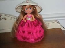 Tonka Cherry Chip Cupcakes Doll Cutie Fruite Coll. W/Original Hat & Skirt Ex.