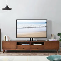 Universal 32-65 Inch Flat Screen TV Stand Base Table Top Tabletop Metal TV Stand