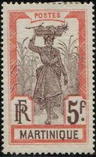 Martinique Scott 100 MH OG Issued 1908-1930 Key to Set Mint Hinged Original Gum