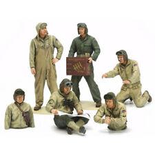 TAMIYA 35347 US Tank Crew Euro Theatre 1:35 Figures Model Kit