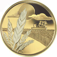 2003 CANADA $100 MARQUIS WHEAT Discovery14k 1/4oz GOLD Coin w/COA RARE!