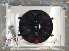 Aluminum radiator + Shroud + fan HOLDEN Commodore VN VP VR VS V8 5.0L SS 304 MT