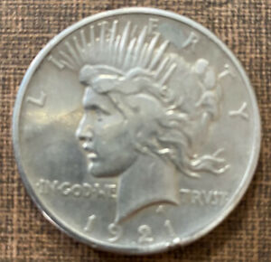 1921 P Peace Silver Dollar 90% Key Date