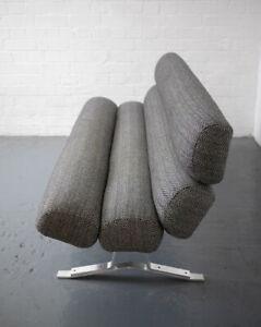 Set of legs (3)  for Mid Century Brutalist Sofa By William Plunkett Scandinavian